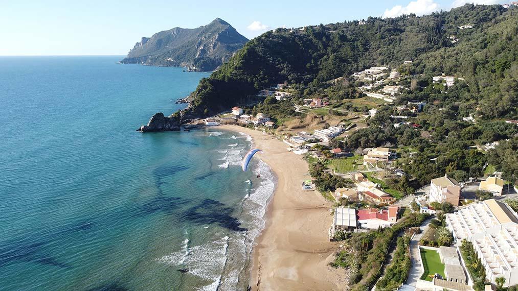 Kontogialos Beach | Corfu Paragliding | Tandem Flights Corfu