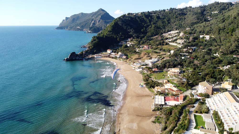 Kontogialos | Corfu Paragliding | Tandem Flights Corfu